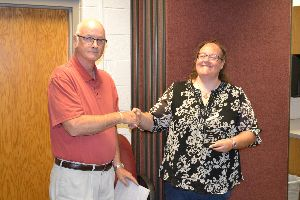 Richland Newhope honors award winner