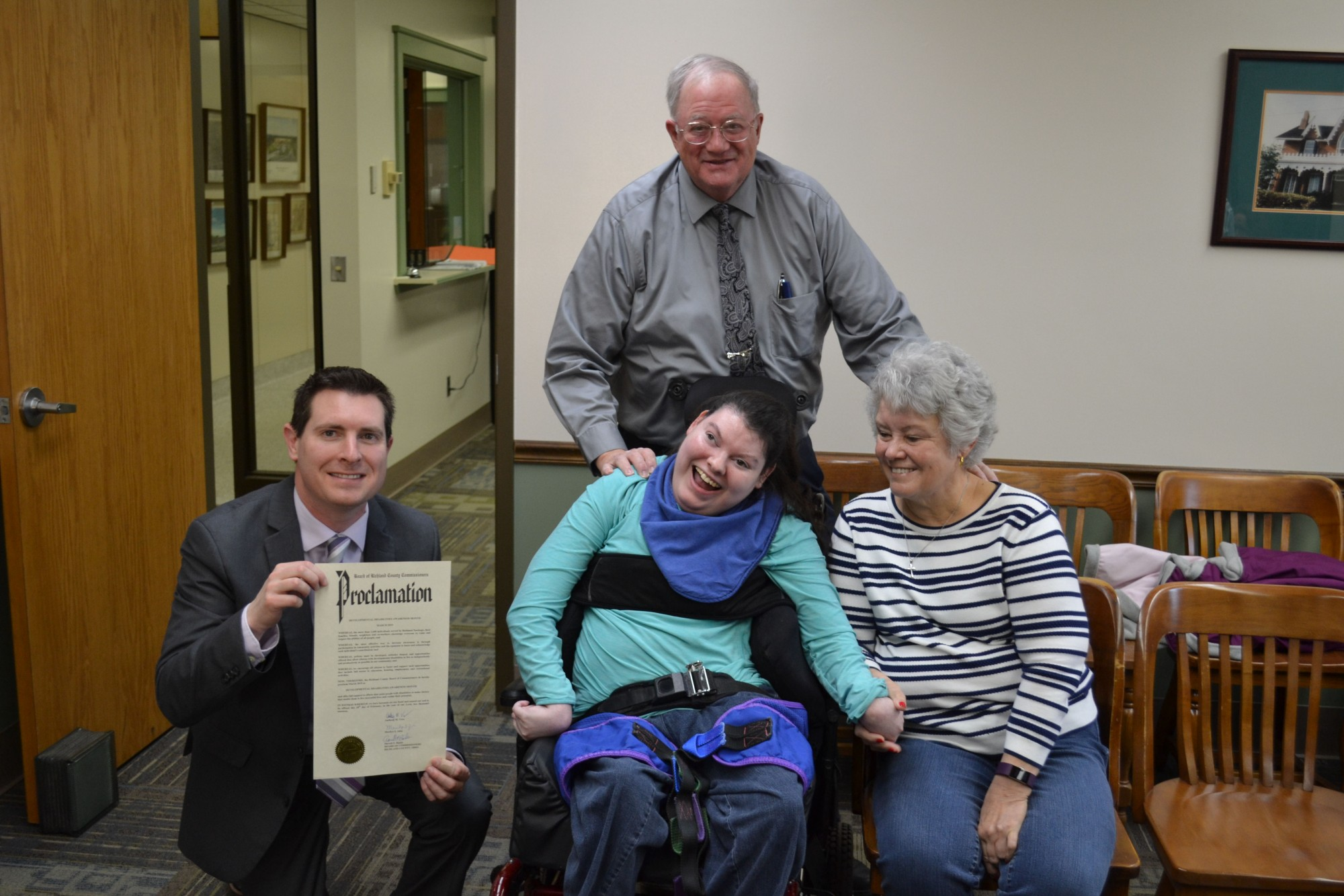 Richland Newhope celebrates Developmental Disabilities Awareness Month