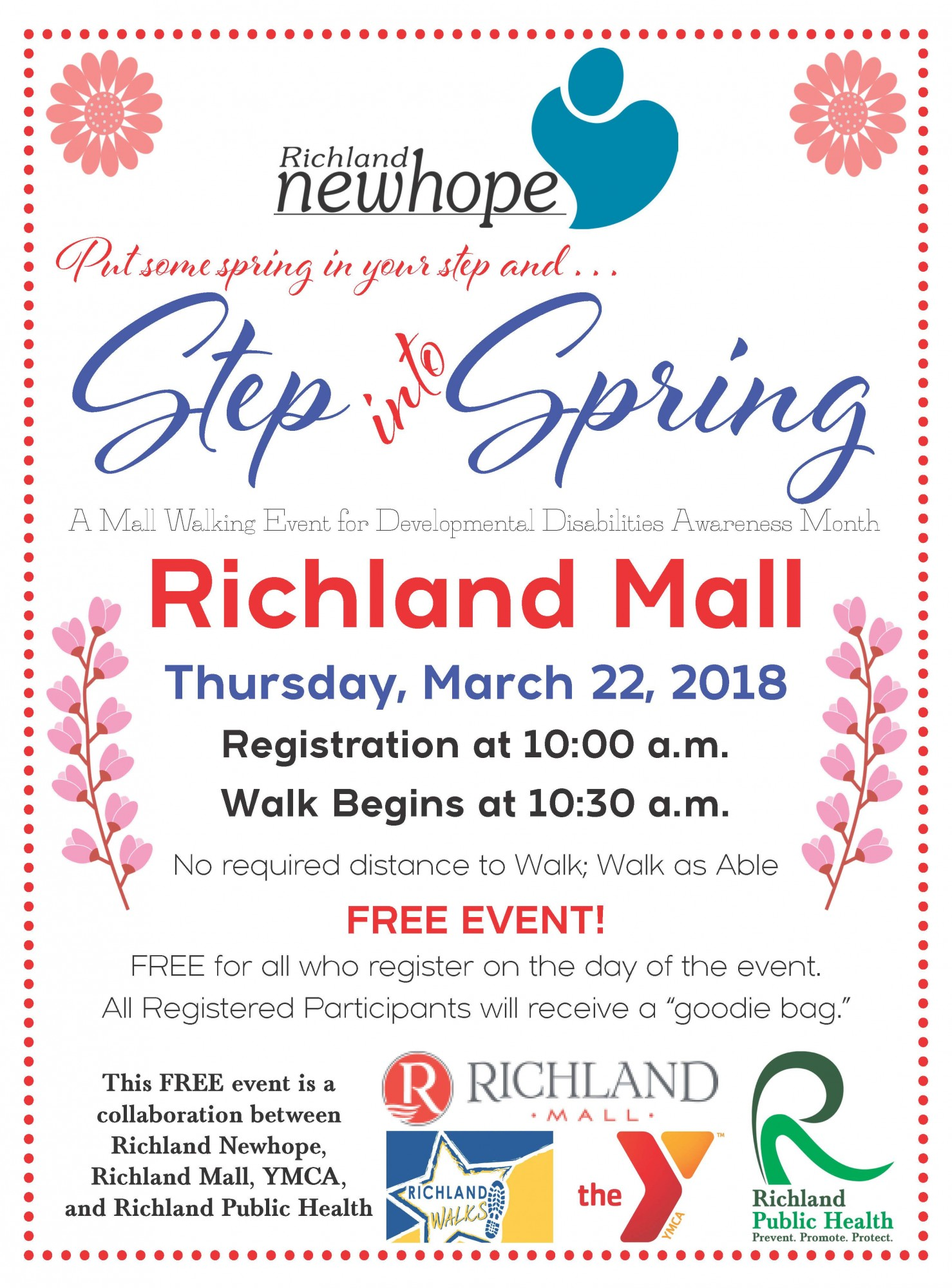 Mall walking event planned for Developmental Disabilities Awareness Month